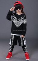 children grils and boys hip-hop jazz dance clothing performance stage dance wear