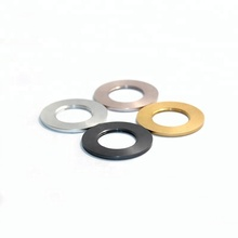 OEM Thin Metal Aluminum Washers Anodized Yellow Flat Washer