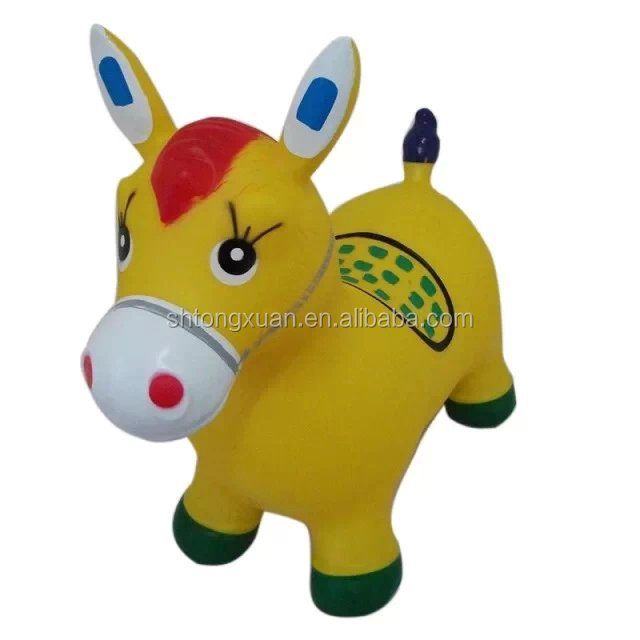 PVC Inflatable Animal/ Bouncing Animal Toy for Children