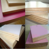 16mm Matt Surface Finish Warm white, Combi or Poplar Melamine Plywood