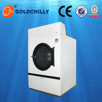 100kg big drum automatic clothes dryer machine, laundry tumble dryer for hotel laundry shops