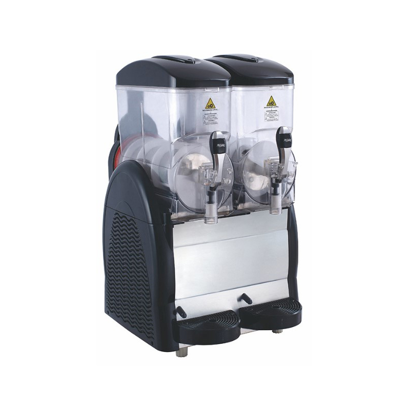 2 bowl Cheap Price Commercial Cold Drink Dispenser Granita Puppy Slush Ice <strong>Machine</strong> Slush <strong>Machine</strong> For Sale