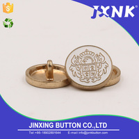 Brand new custom logo badge sewing button with high quality