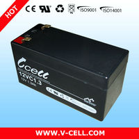 1.3Ah 12V lead-acid battery