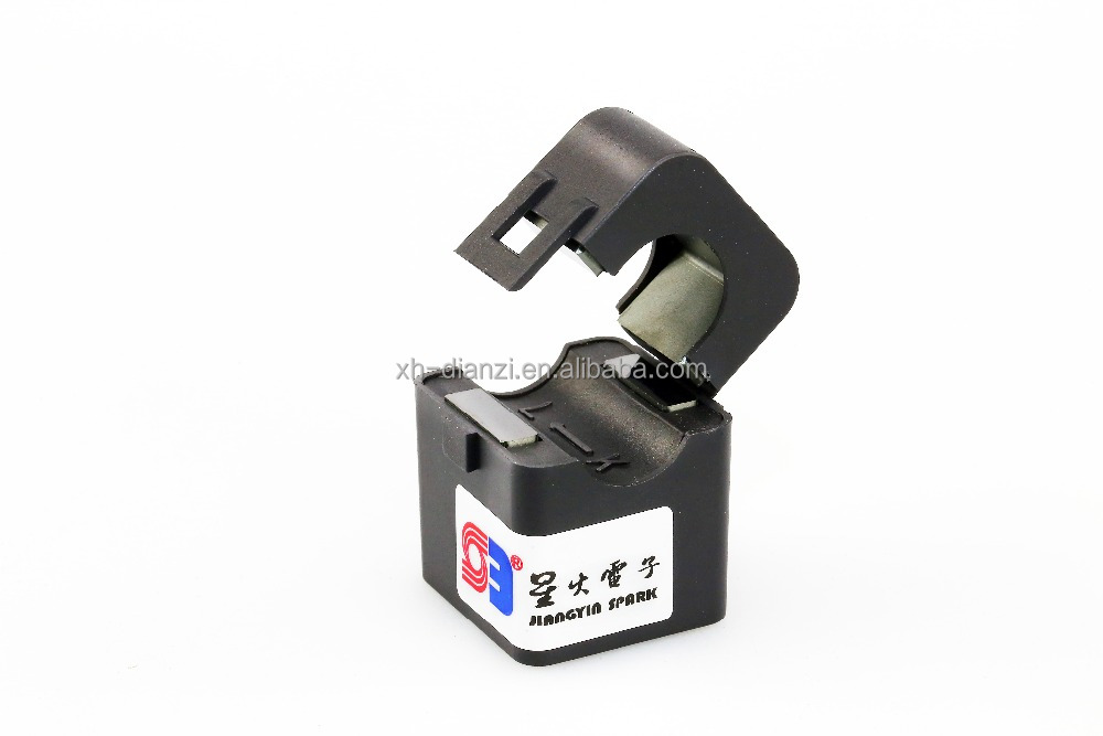 Toroidal Ferrite Split Core Current Transformer for energy meter