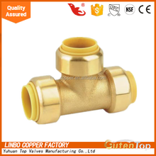 GutenTop High Quality brass 3/4 inch Female tee fittings for plumbing pipes/used plumbing tools for sale