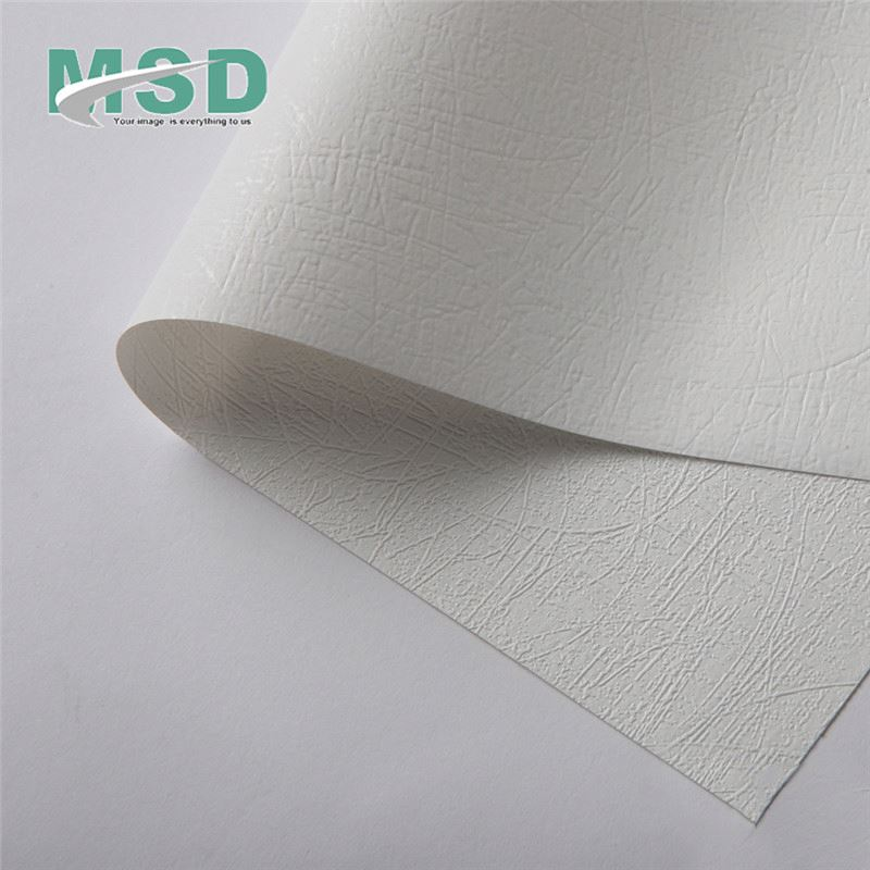 Interior Decorative PVC Stretch Ceiling Films For Gypsum Board