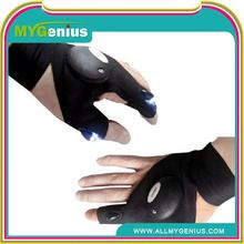Fashion flashing led finger light gloves ,H0Tsr2 led light show gloves