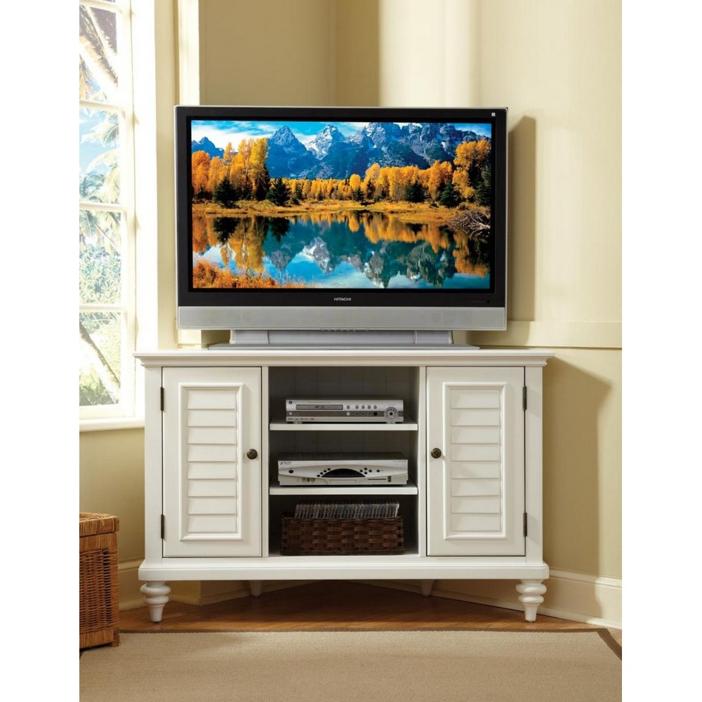 TV Lcd Wooden Cabinet Designs Modern Entertainment Unit in living room