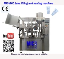 Micmachinery CE certification tube filling machines tube fillers and sealers chemical filling machine