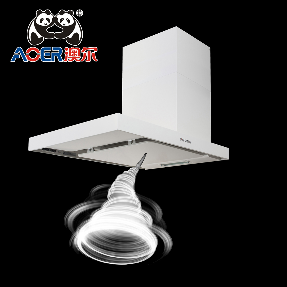 SRH-68 2017 new design Multicolor optional SPCC housing household slim range hood