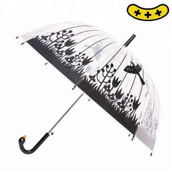 full body umbrella windproof umbrella in POE material with ICTI certification