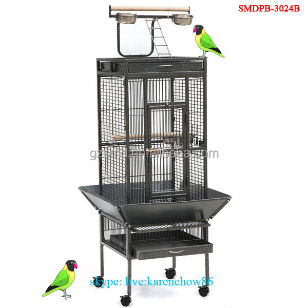 Large Wrought Iron Bird Cages