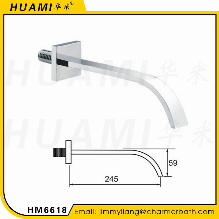 China Suppliers Luxury Square Design Unique Faucet Bathroom