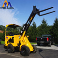 steel camel brand 4 wheel motor hydrostatic drive compact loader with all spare parts available