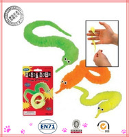 Popular Twisty Magic Worm Toy,Magic toy Worm, Color mix, 6 colors available