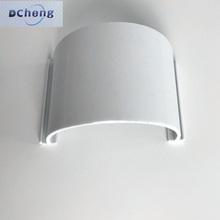 Good shockproof custom color half round window upvc extrusion door plastic profile