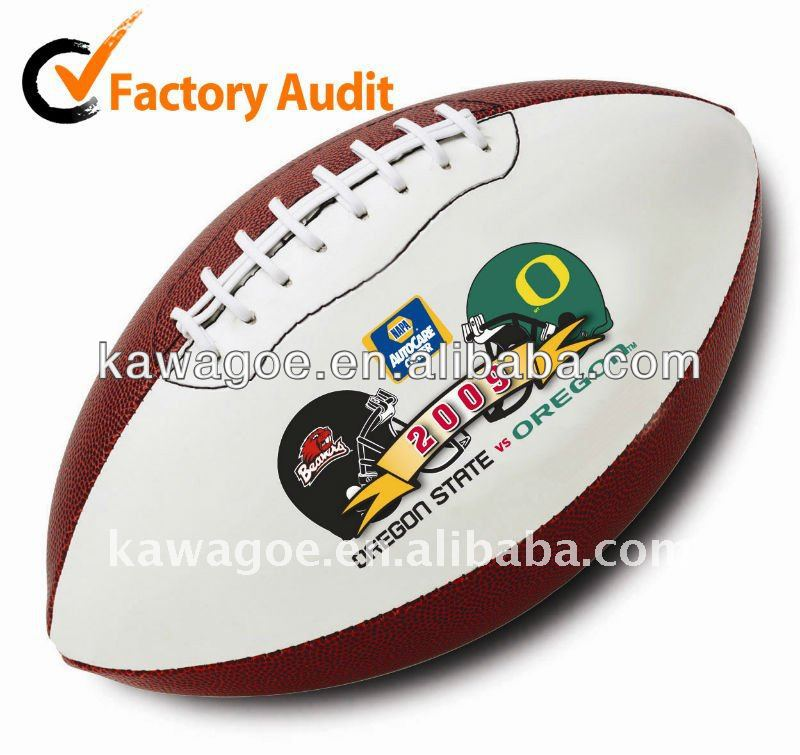custom american leather football
