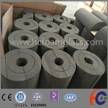 Natural gas pipe insulation material