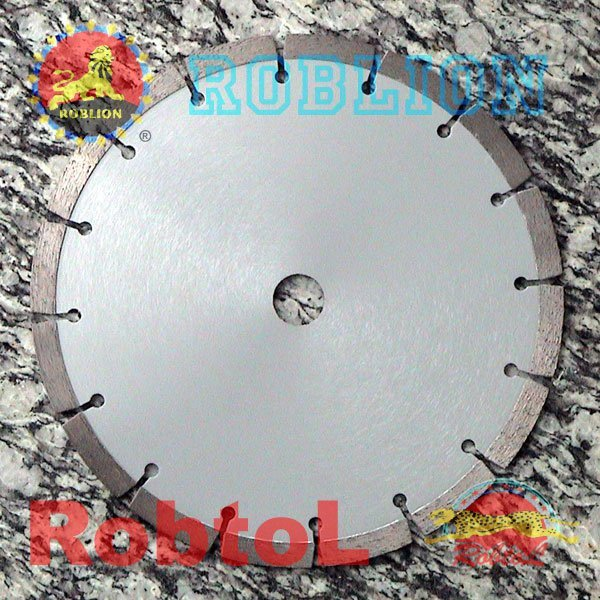 Segmented Small Diamond Blade for Fast Cutting Hard and Dense Material (item ID: GEHD)