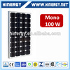 MCS approved where to buy solar panel 100w 100 wp solar panel