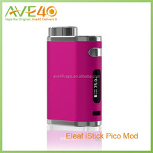 Authentic hot selling ISmoka iStick Pico kit with 2.0 ML Atomizer eleaf istick pico kit