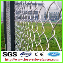 Heavy Duty Stainless Steel 9 Gauge Plastic Coated chain link wire fencing