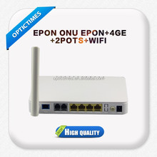 Wireless ftth gpon onu/epon onu for fiber optic network router