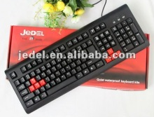 Jedel 2012 104 keycaps new design standard wired keyboard