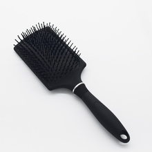 Custom personalized plastic message paddle hair brush wholesale