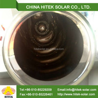 Solar thermal system both sides open solar vacuum tube