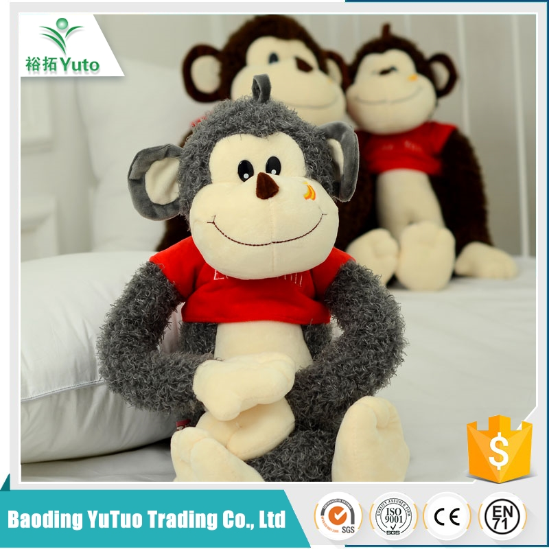 fashiobale Top quality cheap lovely soft monkey dolls and toys