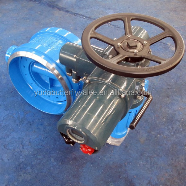 Large dimension STL seat mac electric welded butterfly valve