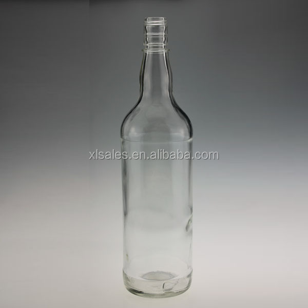 ALCOHOL 325ML 750ML GLASS DECORATED BOTTLE FOR GLEAMING AGLARE VODKA