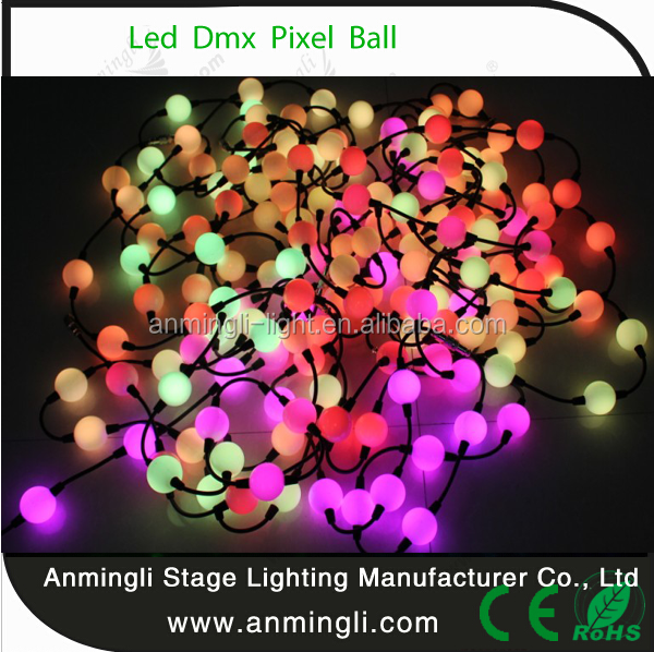 Led 3D Pixel Ball Supporting ArtNet & KlingNet