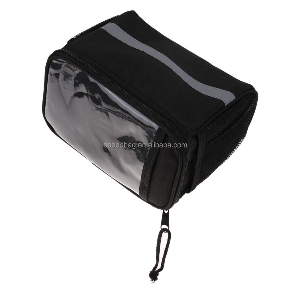 Cycling Basket Pannier Frame Tube Handlebar Bag Could install Map On it Outdoor Sports Front Bike Bicycle Bag