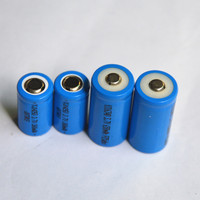 14500 AA size rechargeable battery 3.7V 800mAh 750mAh lithium ion cell