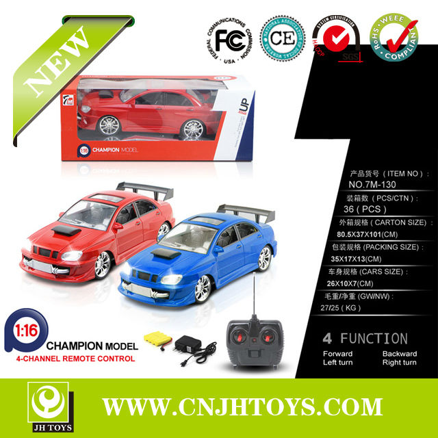 New Products 1:16 Scale 4CH Remote Control Rc Car Toys For Kids