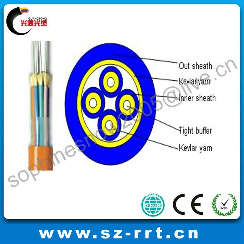 Breakout Tight Buffer Indoor Optical Fiber Cable