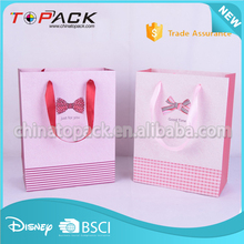 High Quality Wholesale Costume shopping Made Paper Bags