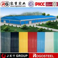 full hard galvanized color coated roofing steel tile