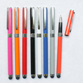 Slim Writing Stationery Cheap Customized Touch Screen Stylus Pen With Logo