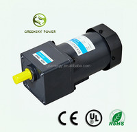 Newest design 90mm ac induction motor, 220v electrical dc motor