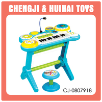 Cheap toy multi-function electronic organ keyboard for kids