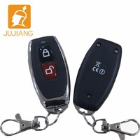 Universal battery keyless remote control for motorcycle car alarm