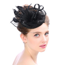 2018 new ladides hair accessories fashion fascinators