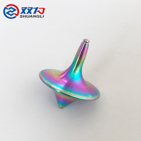 Chinese craft titanium inkstone
