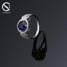 Low Cost High Quality 2-9715 silver engagement ring and wedding band