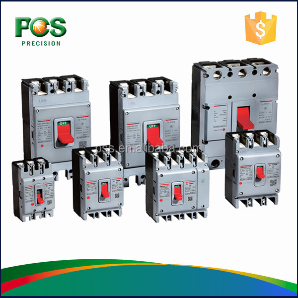 new design moulded case circuit breaker 3P, 4P with CCC/KEMA Approval