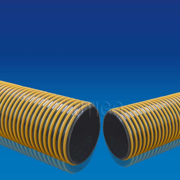 Anti esmagamento de pvc r gido espiral mangueira de suc o - Tubo plastico rigido ...